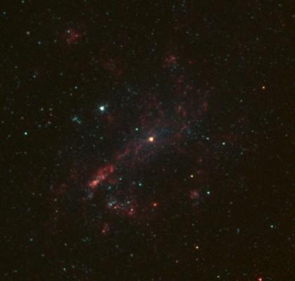 태양질량보다 1만 배 무거운 블랙홀 발견