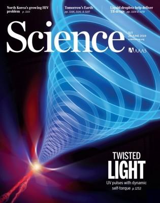 [표지로 읽는 과학] 위상이 뒤틀리는 '회오리 빛'