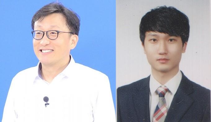연구를 이끈 김상욱 포스텍 생명과학과 교수(왼쪽)과 김동효 연구원. 사진제공 한국연구재단