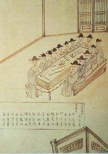 조선 말기 갑오개혁을 추진하였던 군국기무처 역사자료.한민족대백과사전