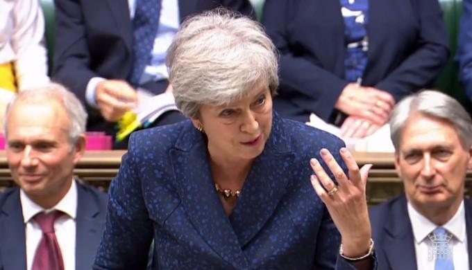 지난 12일 테레사 메이 영국 총리는 2050년까지 탄소배출량을 '제로'로 만들겠다는 계획을 발표했다.. 연합뉴스/AFP 제공.