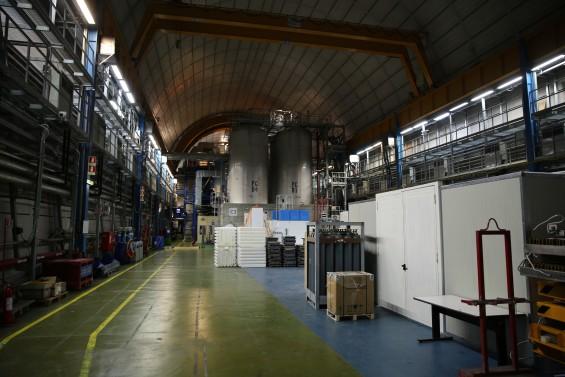 이탈리아 그랑사소 입자연구소 내부. IBS 제공