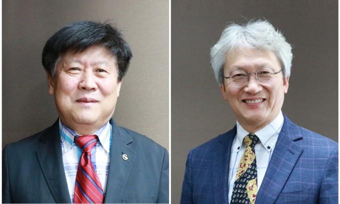 김칠민 부총장(왼쪽)과 김호영 연구부총장. DGIST 제공.