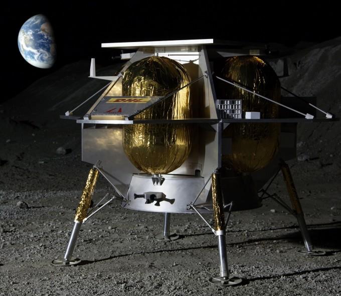 미국항공우주국(NASA)은 달 착륙선 개발 민간기업 3곳을 지원해 달에 과학기술 임무용 화물을 실어 보내겠다는 계획을 발표했다. 세 기업 중 하나인 아스트로보틱의 달 탐사선 상상도다. 아스트로보틱 제공