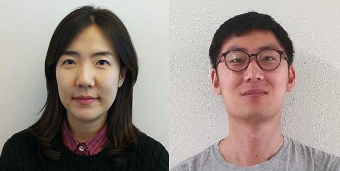 연구를 주도한 남호정 GIST 전기전자컴퓨터공학부 교수(왼쪽)와 공동제1저자 이인구 연구원. 사진제공 GIST