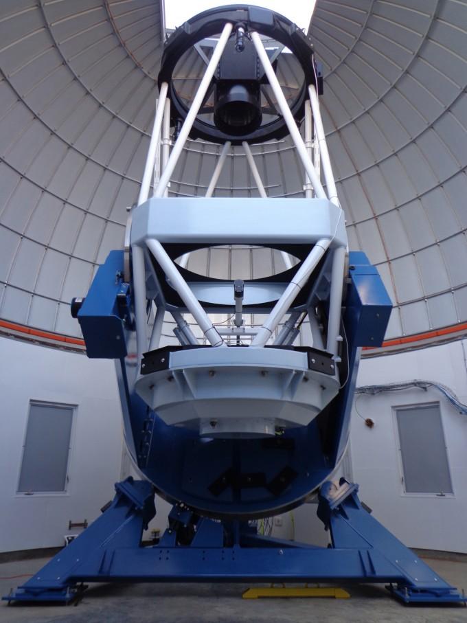 이번 발견을 이끈 KMTNet의 망원경 모습. 사진제공 한국천문연구원
