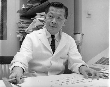미국 국립보건원에 합류해 연구할 당시의 조 힌 치오. NIH