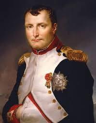 1812년 공식적으로 미터법을 공포한 나폴레옹. '제국은 순간이지만 미터법은 영원할 것'이라는 글귀를 남겼다.