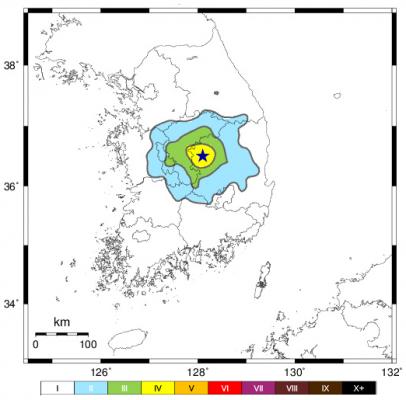 경북 상주서 규모 3.9 지진…이틀 연속 발생