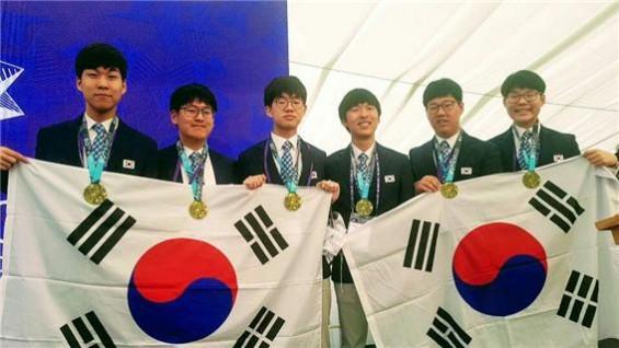 한국 과학영재들 '쾌거'…국제생물·수학올림피아드서 각각 1·3위