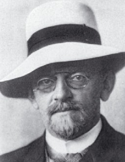 독일 수학자 다비트 힐베르트. 인류 문명을 발전시킬 23개의 수학문제를 제시했다.