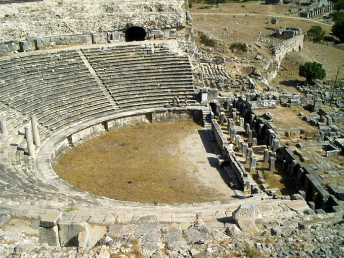 밀레토스의 그리스식 극장. 위키피디아 제공