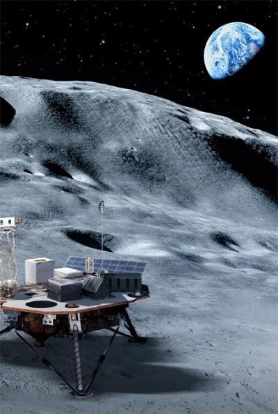 미국이 상업 달 탑재체 서비스(CLPS)를 통해 달에 민간 달 착륙선을 보낸다. 여기에 과학 탑재체를 실어 달의 환경을 연구하게 된다. 미국항공우주국 제공