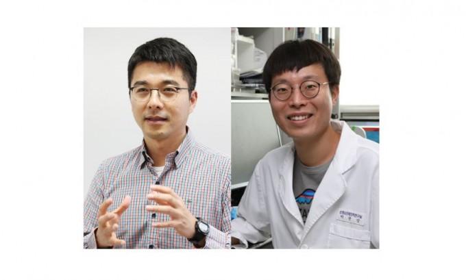이정호(오른쪽) KAIST 이과학대학원 교수와 유석종 한국과학기술정보연구원(KISTI) 책임연구원 공동 연구팀은 노화과정에서 발생하는 후천적 뇌 돌연변이가 알츠하이머 발병과 연관이 있다는 연구결과를 내놓았다. KAIST 제공