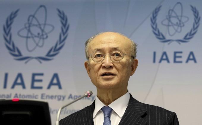 22일(현지시간) 72세 나이로 별세한 아마노 유키아 IAEA 사무총장. 연합뉴스 제공