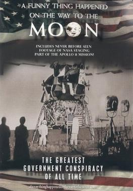영화제작자인 바트 시브렐이 만든 단편영화(A Funny Thing Happened on the wat to the Moon. 2001) .  포스터
