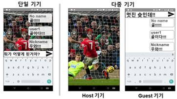 하나의 앱, 두 개의 스마트 기기에서 동시에 즐긴다
