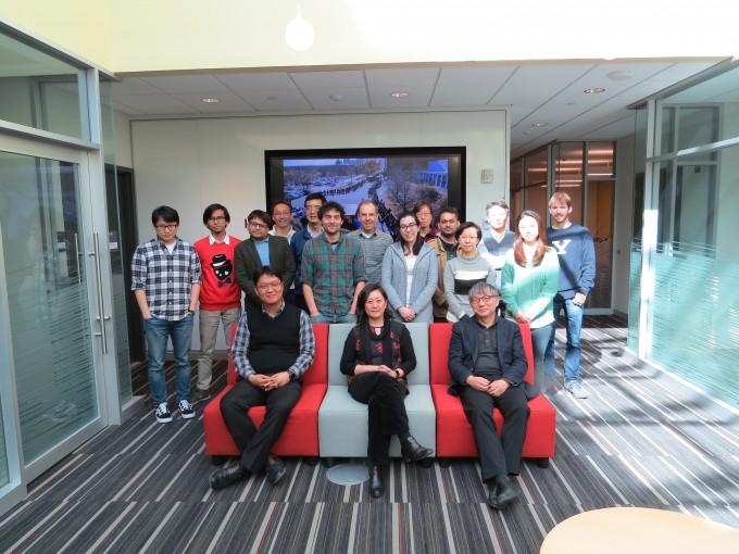 코사인-100 공동연구단의 모습이다. 사진제공 IBS