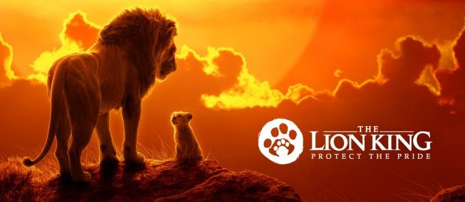 영화 라이온 킹의 제작사 디즈니는 개봉에 맞춰 사자를 보호하자는 ′프로텍트 더 프라이드′ 캠페인을 열었다. 디즈니사 제공