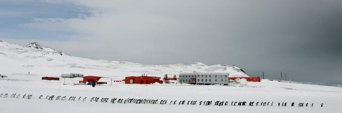 서남극 남극반도 남쉐틀랜드 군도 킹조지섬에 있는 남극세종과학기지. 극지연구소 제공