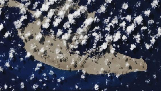 남태평양 한가운데 별안간 '여의도 18배' 섬 떠다니는 이유