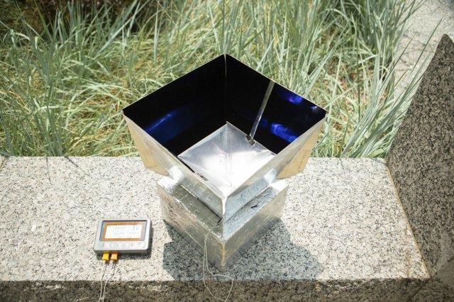 미국 버팔로대 연구진이 개발한 복사냉각 시스템. 미국 버팔로대 제공