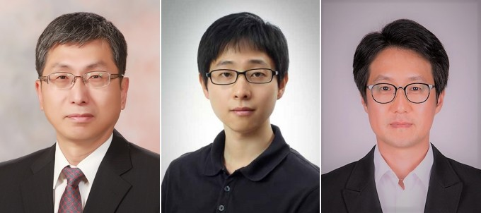 왼쪽부터 성영은 교수, 임태호 교수, 권오중 교수. 한국연구재단 제공.