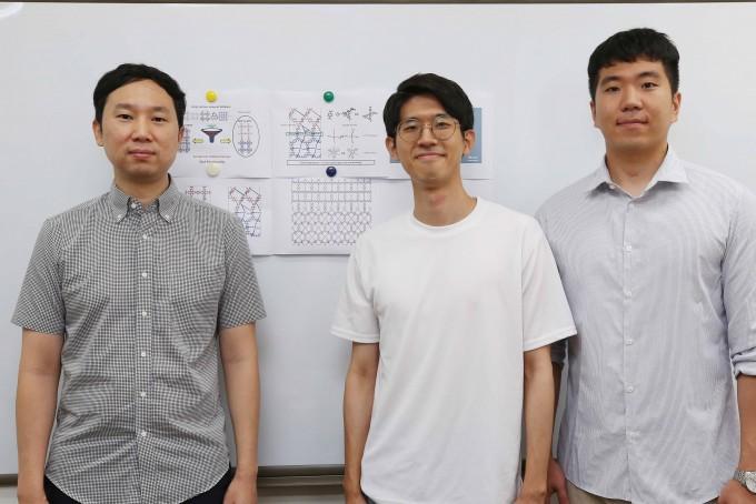 김지한 KAIST 교수(왼쪽)와 연구팀. KAIST 제공.