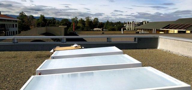 미국 스탠퍼드대 연구진이 개발한 광 복사냉각 장치. 미국 스탠퍼드대 제공
