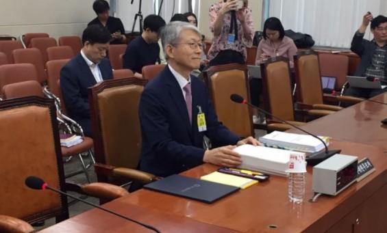 박성중 의원, 최기영 인사청문회 중