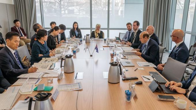 과학기술정보통신부가 지난 27일 호주 캔버라에서 호주 산업혁신과학부와 '제4차 한-호주 과학기술공동위원회(과기공동위)'를 개최했다. 과기정통부 제공