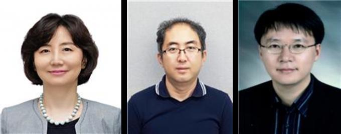 묵인희 서울대 교수와 황대희 교수, 이상원 고려대 교수(왼쪽부터). 과기정통부 제공.