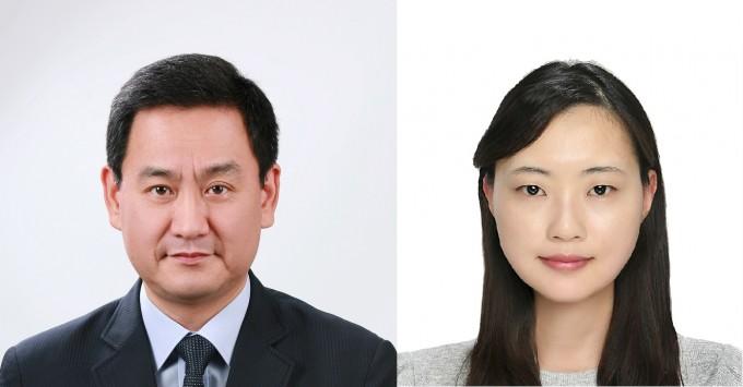 신동민 연세대 치대 교수(왼쪽)과 손아란 미국국립보건원(NIH) 연구원은 급성 췌장염 치료제 개발 표적 후보 단백질을 발굴했다. 한국연구재단 제공