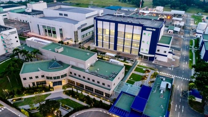 애브비_투아스 바이오메디컬 파크에 지어진 애브비 생산 시설 전경. Abbvie 제공