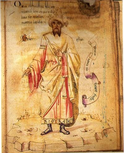 자비르 이븐 하이얀(721~815). 위키피디아