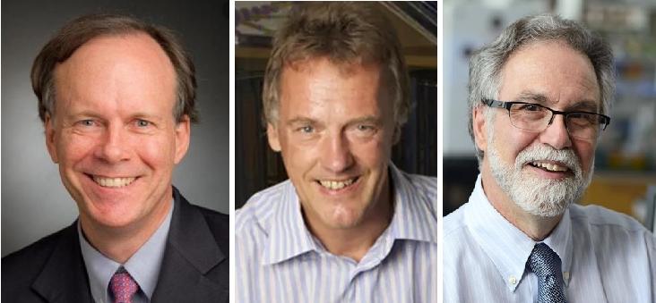 2019 노벨 생리의학상 수상자가 발표됐다. (왼쪽부터) 윌리엄 케일린, 피터 랫클리프, 그레그 서멘자