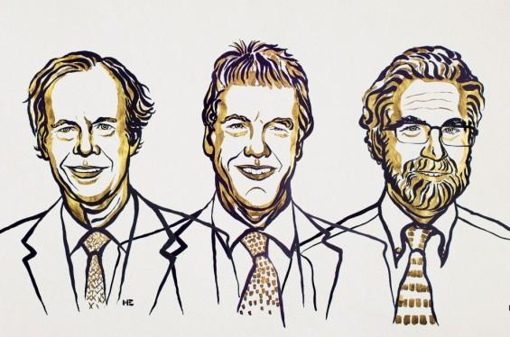 노벨생리의학상 수상자 3인은 누구
