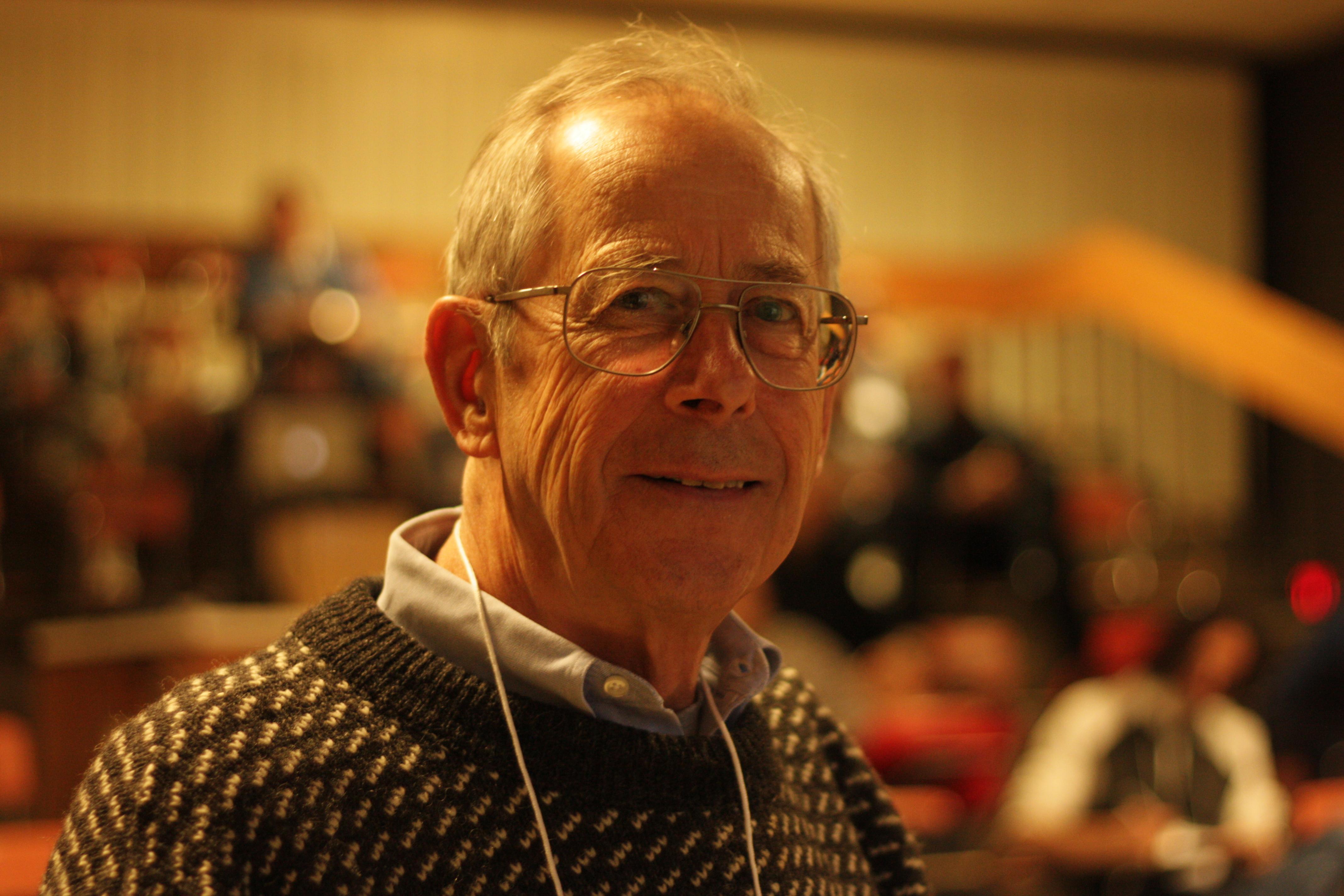 물리우주론 이론적 발견 공로를 인정받아 2019년 노벨물리학상을 수상한제임스 피블즈 미국 프린스턴대 명예교수. 위키미디어(Juan Diego Soler) 제공