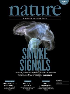 [표지로 읽는 과학] 흡연과 당뇨병 관계 밝혀지다