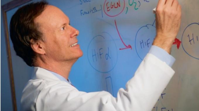 2019 노벨 생리학수상자 중 한 명인 윌리엄 케일린. 하버드대 데이나파버 연구소 제공