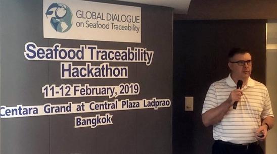 국제 수산물 이력추적 해커톤 1회는 태국 방콕에서 개최됐다.한국과학기술원 제공