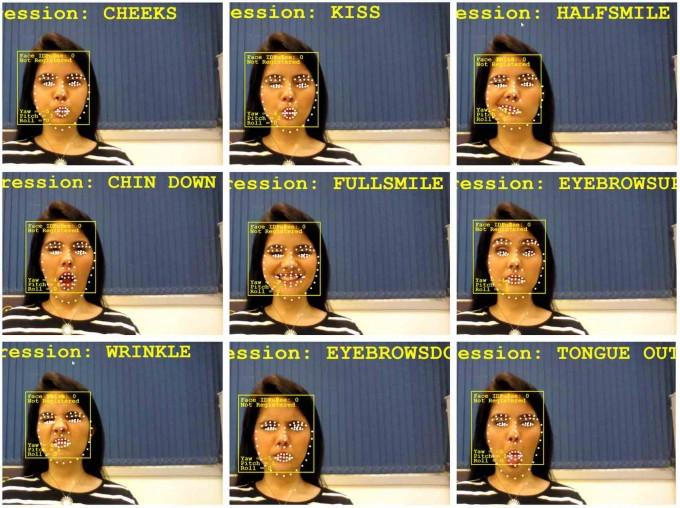 인텔과 후박스로보틱스가 개발한 ′휠리7′은 얼굴을 3D로 스캔해 9가지 표정을 구분, 인식하고 저장할 수 있다. 저장된 표정에 따라 휠체어를 전진, 회전, 정지시키는 등 자유롭게 조종 가능하다. 후박스로보틱스 제공