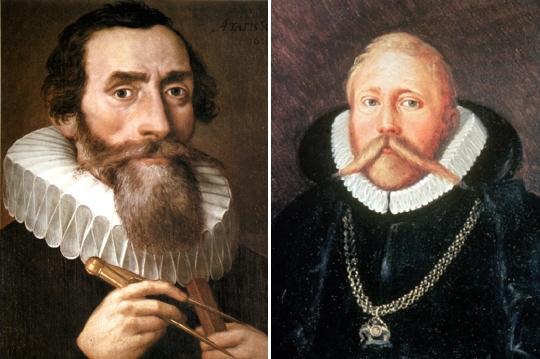 요하네스 케플러와 튀코 브라헤