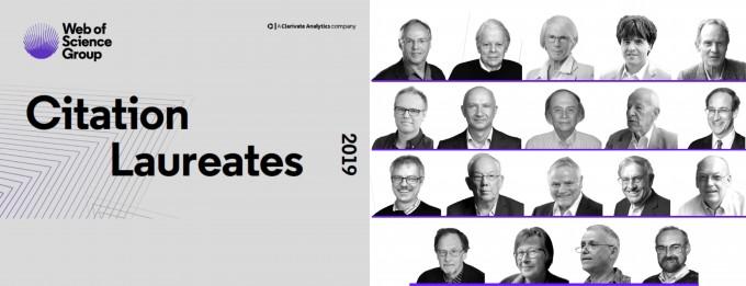 클래리베이트 애널리틱스가 2019년 노벨 과학상 수상자 발표에 앞서 수상자 후보로 지목한 19명. 이 중 생리의학상 수상자 후보로 꼽힌 6인과 화학상 수상자 후보로 꼽힌 4인이 생물학과 의학, 생화학 분야에서 선정됐다.클래리베이트 애널리틱스 제공