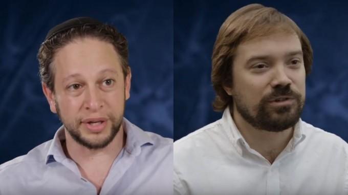 엘란 바렌홀츠(왼쪽) 미국 플로리다애틀랜틱대 심리학과 교수와 윌리엄 한(오른쪽) 컴퓨터공학과 교수. 유투브 캡처