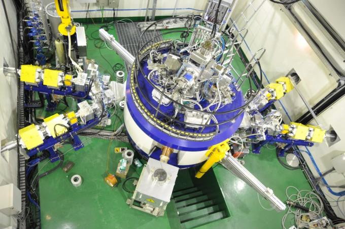 조기 암 진단을 위한 동위원소 등을 생산하는 입자 가속기인 사이클로트론의 모습이다. 한국원자력연구원 제공