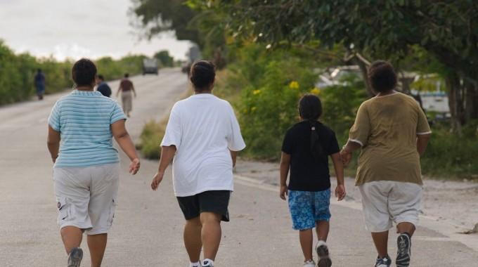 미크로네시아의 작은 섬 나우루 공화국은 전세계에서 비만율이 가장 높은 나라다. 위키피디아 제공.