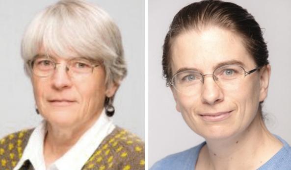 롤러코스터 추측을 제안하고 해결한 안나 루비르와 테레사 비들. 롤러코스터 정리는 이 두 수학자 외에도 5명이 더 함께 연구했다. 워털루대 제공