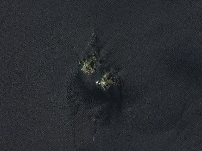 지난 6월 20일 아리랑위성 3호가 촬영한 독도 위성사진이다. 항우연 제공