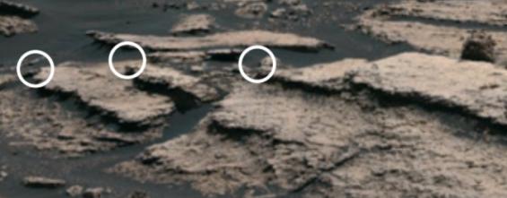 화성 분화구 속에 '염분 호수' 있었다